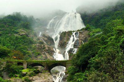 Goa Diary – Dudhsagar Waterfalls